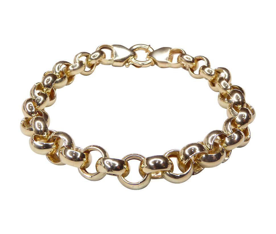 14 karaat geel gouden jasseron armband