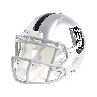Riddell mini football helmet - NFL speed Oakland Raiders