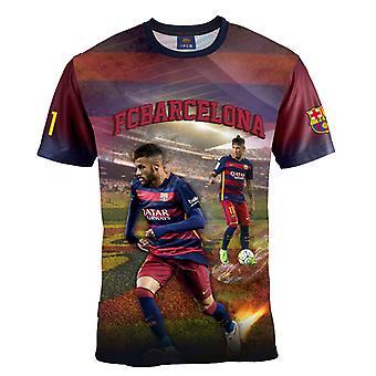 Barcelona t-shirt Neymar alder 6 år