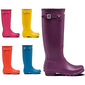 Womens Hunter Original Tall Rubber Waterproof Snow Rain Wellington Boots