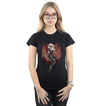 Marvel kobiet czarny kot Spider Web T-Shirt