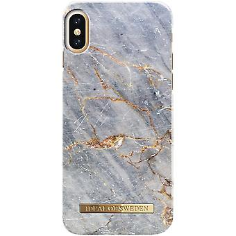 iDeal Of Sweden iPhone X / XS Marmor skal - ROYAL GREY MARBLE