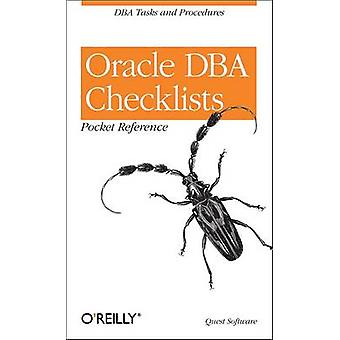 Elenchi di controllo di Oracle DBA Pocket Reference di RevealNet - 9780596001223 B