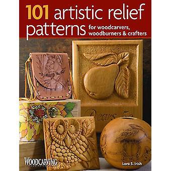 101 konstnärliga lättnad mönster för träsnidare - vedpanna och Crafte