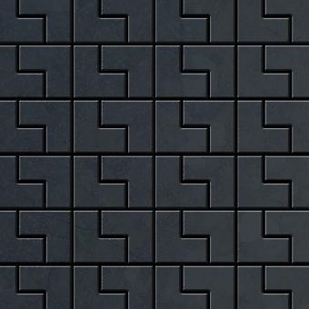 Metalowa mozaika ze stali surowej Alloy Kink-RS