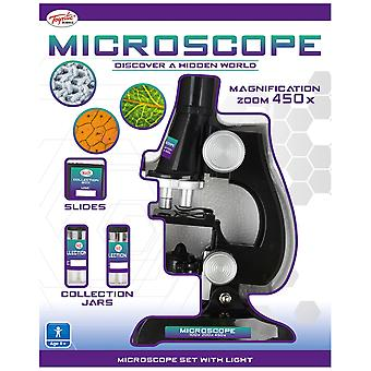Toyrific Microscope Set With Light