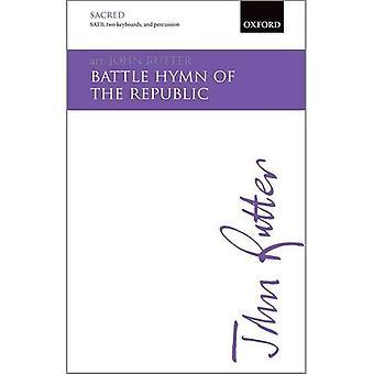 Schlacht-Hymne der Republik: SATB Klavierauszug