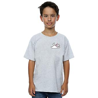 Disney Boys Aristocats Marie Sweet Backside Breast Print T-Shirt