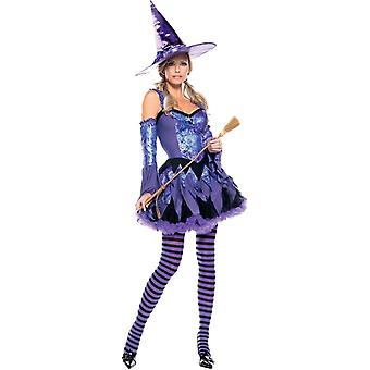 Sequin Witch Adult Costume