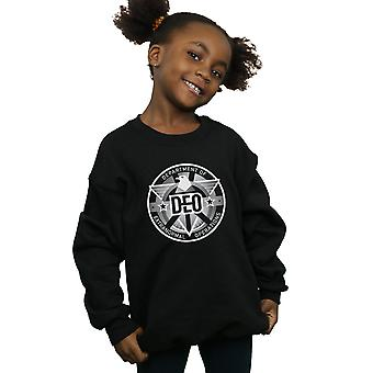 DC Comics meisjes Supergirl televisieserie Deo Crest Sweatshirt