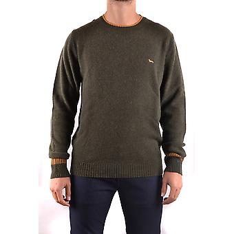 Harmont&blaine Ezbc096003 Men's Green Wool Sweater