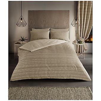 SEB ränder moderna duntäcke Quilt Cover vändbar Bedding Set örngott