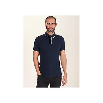Remus Tipped Button Polo