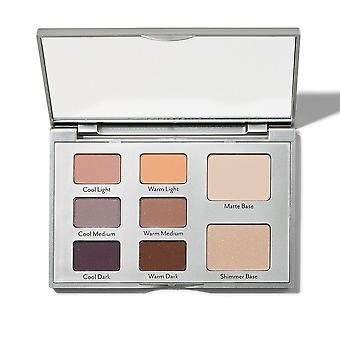 Eye contour eyeshadow Palette Cooler Base 1