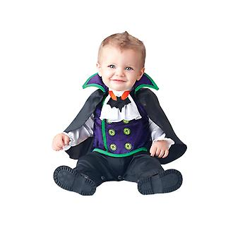 Baby Age 0 - 24 Months Count Dracula Vampire Halloween Fancy Dress Costume