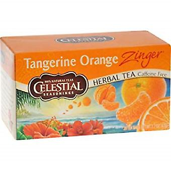 Celestial Seasonings Tea Tangerine Orange Zinger