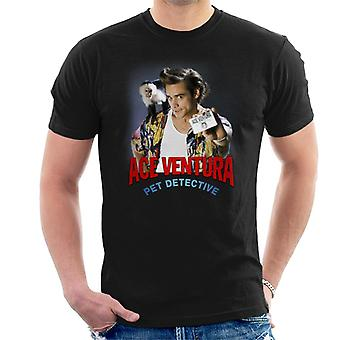 Ace Ventura Pet Detective Monkey And ID Card Men's T-Shirt