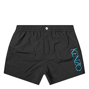 Pantaloncini da nuoto Kenzo Side logo nero