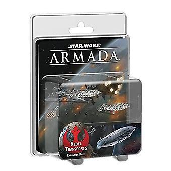 Star Wars Armada Rebel Transports expansion miniatyrer spel