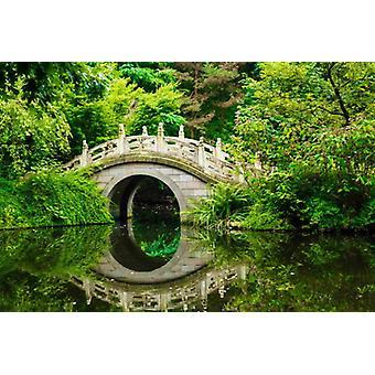 Tapete Wandbild Japanischer Garten II