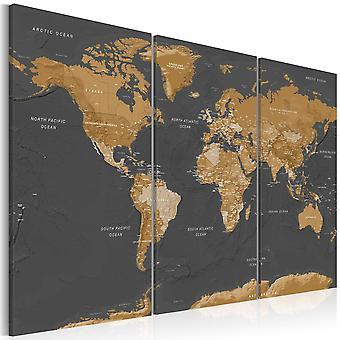 Billede - World Map: Modern Aesthetics