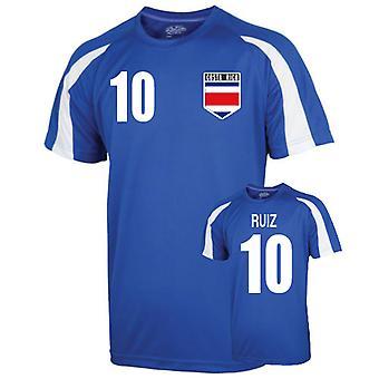 Costa Rica Sports Training Jersey (ruiz 10) - Kids