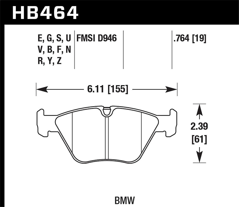Hawk Performance HB464G.764 DTC-60