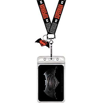 Lanyard-Batman V Superman-úsvit spravedlnosti logo New LAN-DC-0012