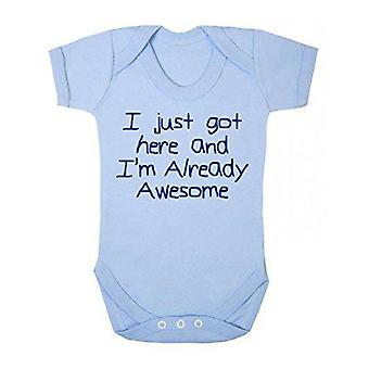 Already awesome short sleeve babygrow