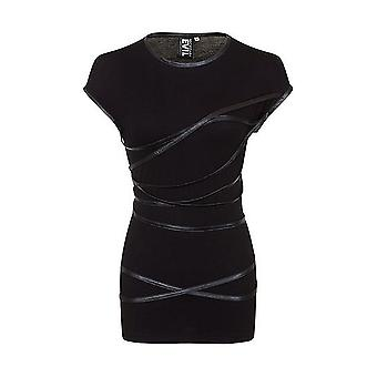 Necessary evil - sigyn faux leather strap - womens dress