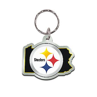 Wincraft STATE chaveiro-NFL Pittsburgh Steelers