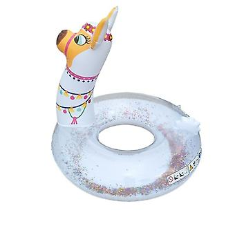 Alpaca Bath ring with glitter