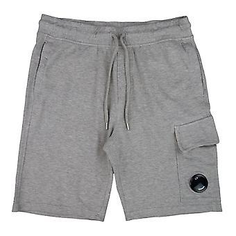 CP Company Lens Sweat Shorts Grey M93
