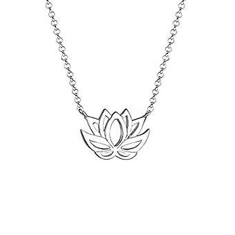Elli Halskette mit Damen Anhänger in Silber 925 - 45 cm
