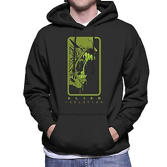Alien Isolation Xenomorph Teeth Men's Hooded Sweatshirt