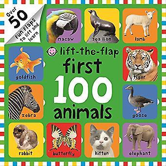 Lift-the-Flap första 100 djur (första 100 Lift-the-Flap böcker)