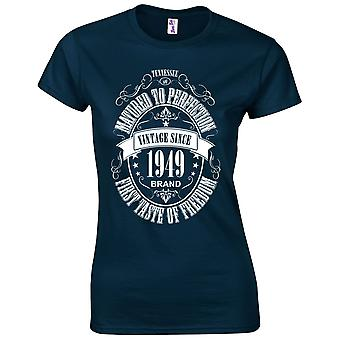 70th Birthday Gifts for Women Her Matured 1949 T-Shirt