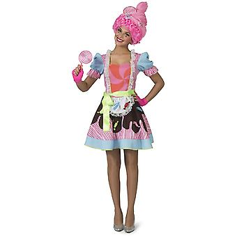 Candy Costume Women's Costume Candy Queen Colorful Carnival Carnival Costume Ladies