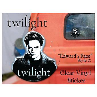 Twilight Sticker Clear Vinyl Style C (Edward)
