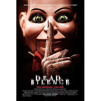 Dead Silence Original Movie Poster - Double Sided Regular
