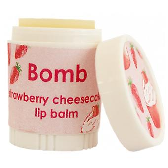 Bomb Cosmetics Lip Balm - Strawberry Cheesecake