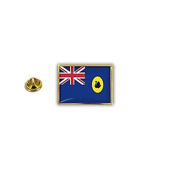 Pine PineS PIN rinta nappi PIN-apos; s metalli epoksi lippu Australia Länsi