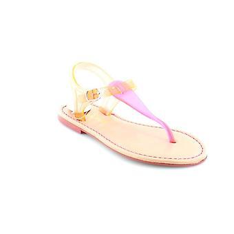 Kids Nina Girls Flynn Leather Buckle SlingBack Gladiator Sandals