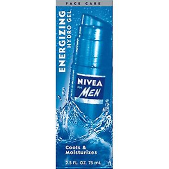 Nivea For Men Energizing Hydro Gel  2.5 fl oz / 75 ml (Pack of 2)