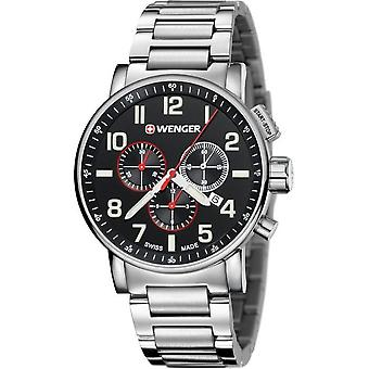 Wenger Men's Watch 01.0343.105 Chronographs