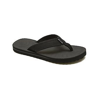 Rip Curl Dbah Flip Flops in Black/Charcoal