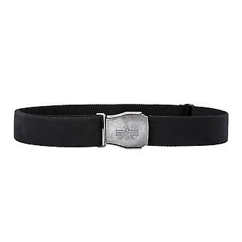 Alpha industries belt buckle belt