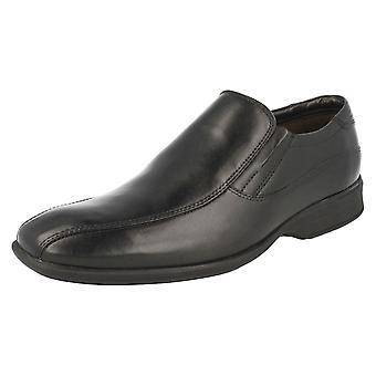 Herren Clarks formelle Slip On Schuhe Gadwell Stride