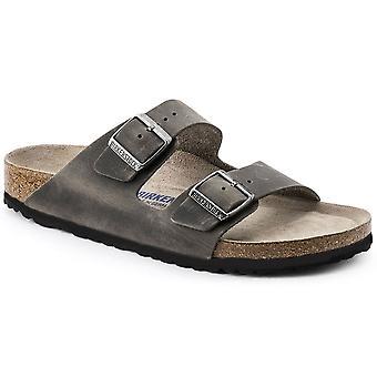 Birkenstock Arizona OL SF Sandal 1013645 Iron Narrow