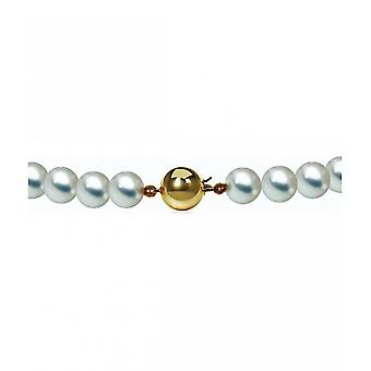Luna-Pearls Pearl Necklace AkoyaBeads 7-7.5 mm 585 Yellow Gold 2035946